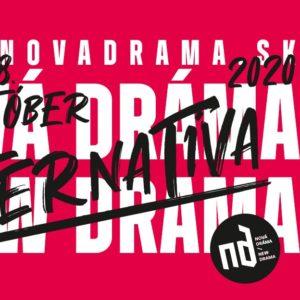 Divadelný festival Nová dráma/New Drama – alternatíva bude tento rok napokon len online.