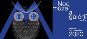Noc múzeí a galérií 2020 – online (PROGRAM)