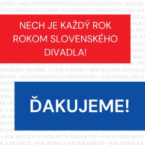 Rok slovenského divadla končí. Aký bol a čo priniesol?
